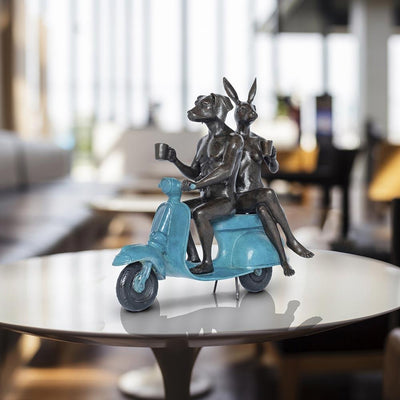 Collection of Sculptures - The Teleport Hotel, Hague, Netherlands