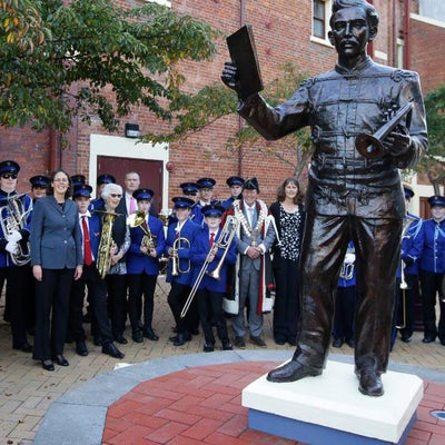 Alex Lithgow statue unveiling unearths treasures connected to The Invercargill March composer