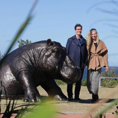 African ties to Bayside Council Arts Festival 2019 prize winning hippo creators