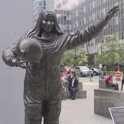 Couple Aims To Balance Gender Representation In Art With Bronze Statues Of Inspiring Women