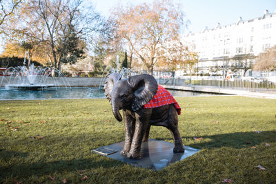 How 21 Elephants Came To Central London And Other Art Apparitions