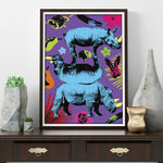 A few of our favourite things plus rhinos (Print)