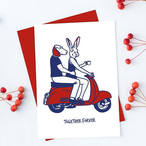 Together forever (Greeting Card)