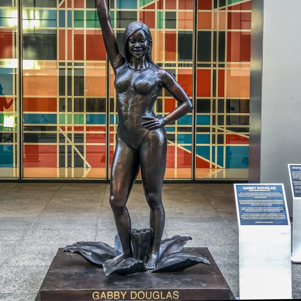 GABBY DOUGLAS (Bronze Sculpture)