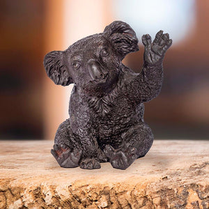 Peter the koala says hi (Bronze Sculpture, Pocket Size) *FREE SHIPPING