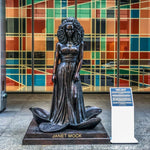 JANET MOCK (Bronze Sculpture)
