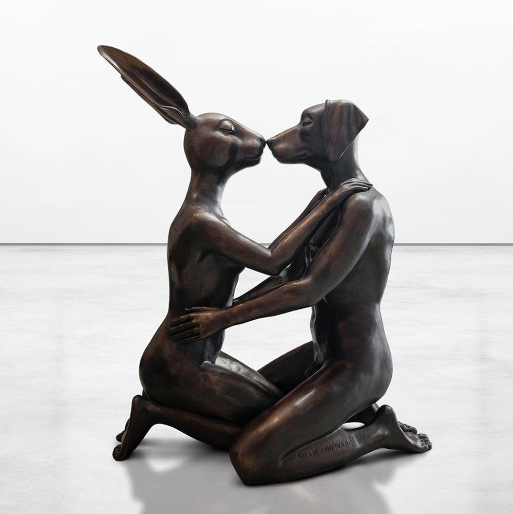 Kiss Forever (Bronze Sculpture)