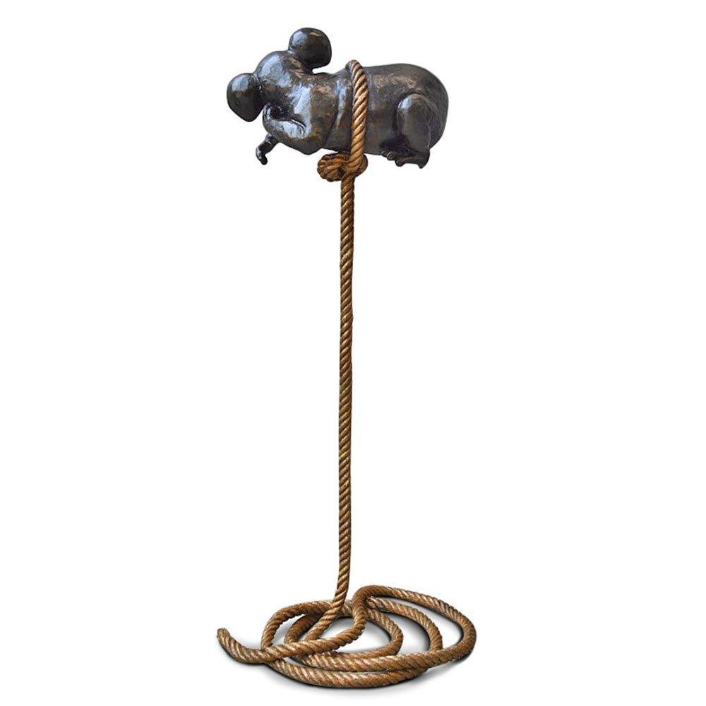 Koala Up High (Bronze Sculpture)
