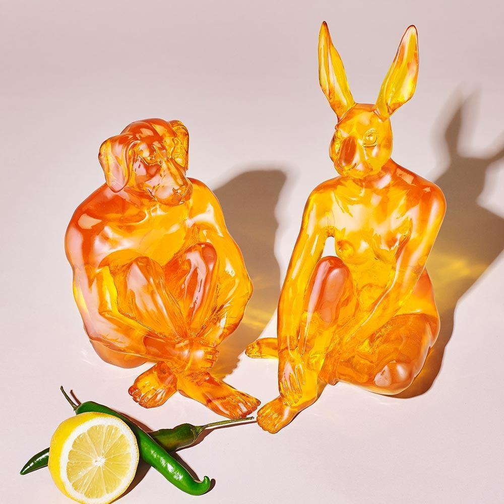 Mini Lolly Rabbitgirl (Resin Sculpture) *NEW COLOURS