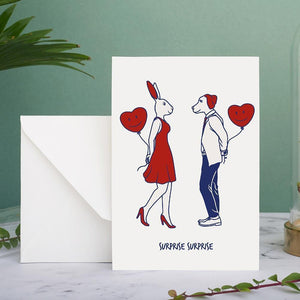 Surprise Surprise (Greeting Card)