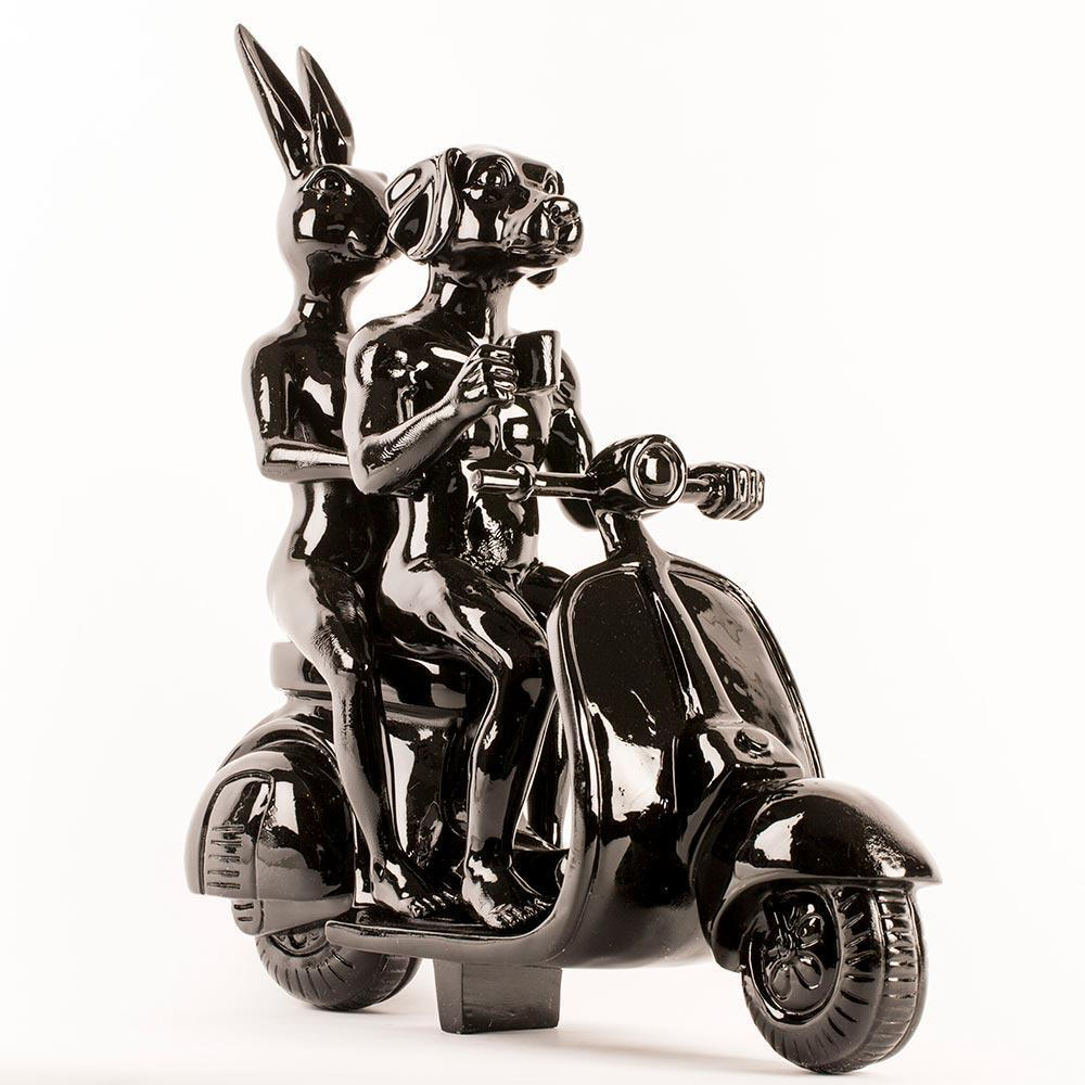 Vespa Riders (Medium)
