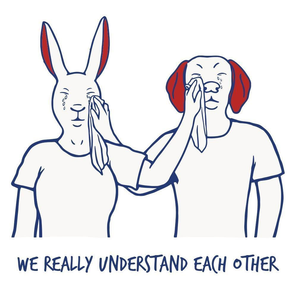 We really understand each other (Print)