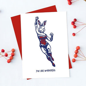 You are wonderful (Greeting Card)