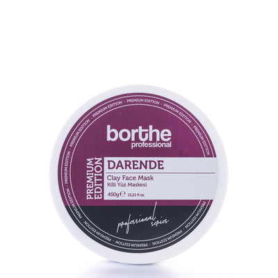 BORTHE Clay Face Mask Premium Edition (DARENDE) 450g
