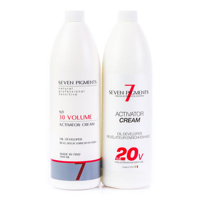 Seven 7 Pigments Natural Peroxide / Developer / Oxidant Made in Italy (6% 20 Volume) 1000ml