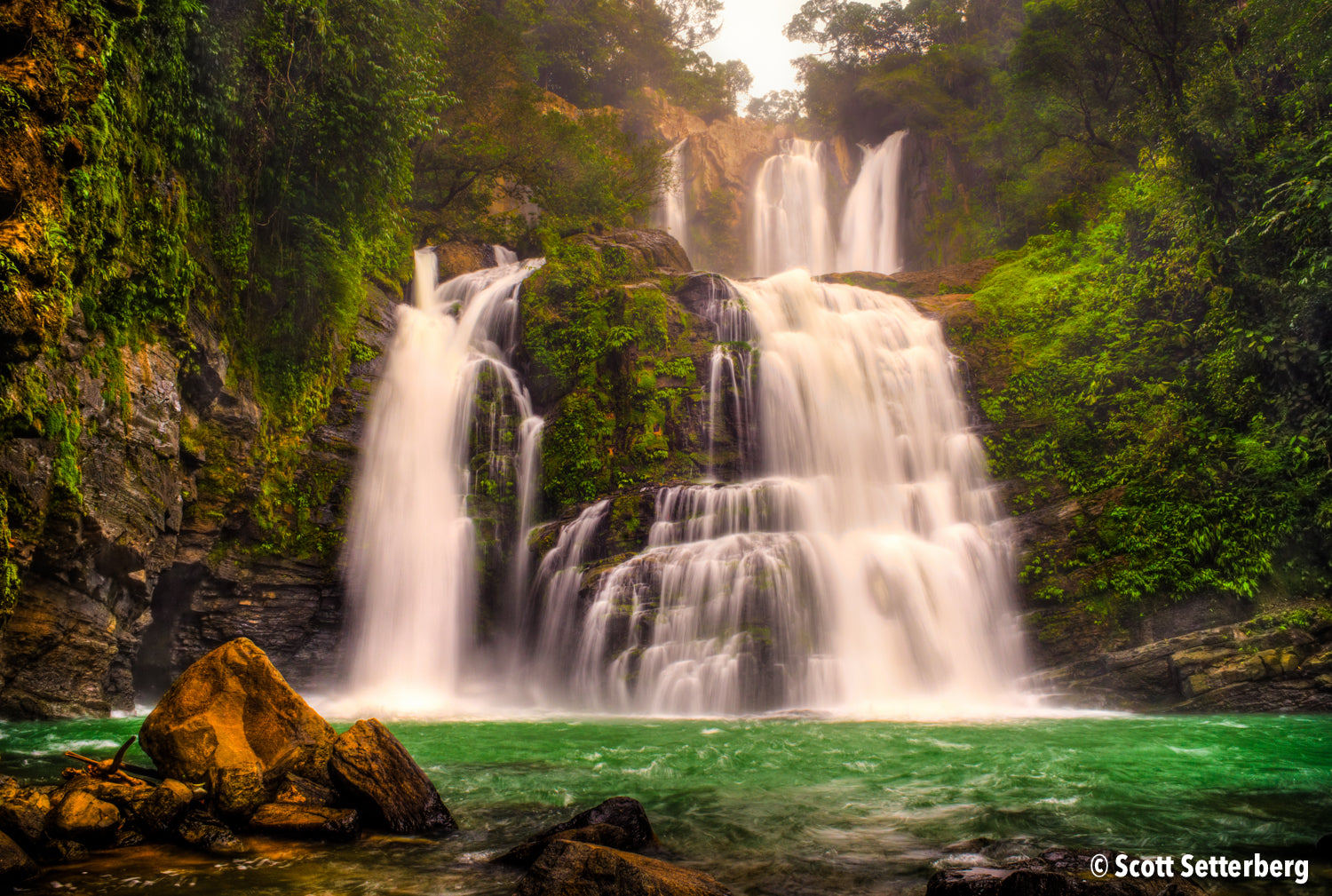 Nauyaca Waterfalls in Costa Rica