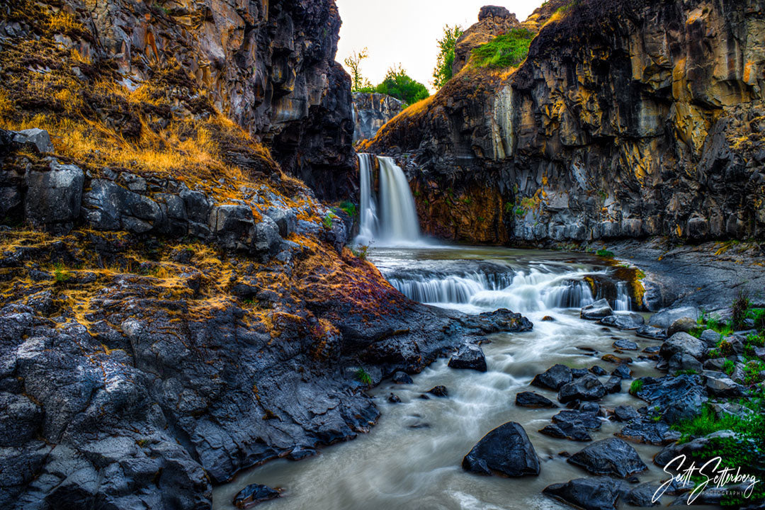Lower White River Falls, Oregon