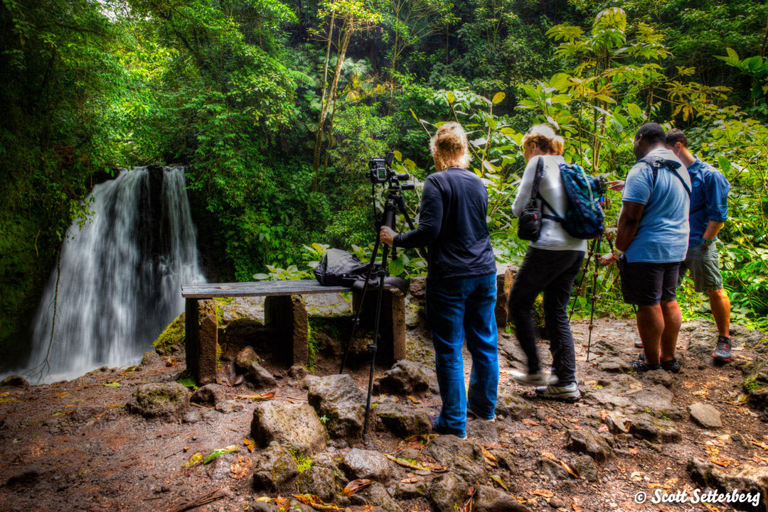 Clients on Costa Rica Photo Tour