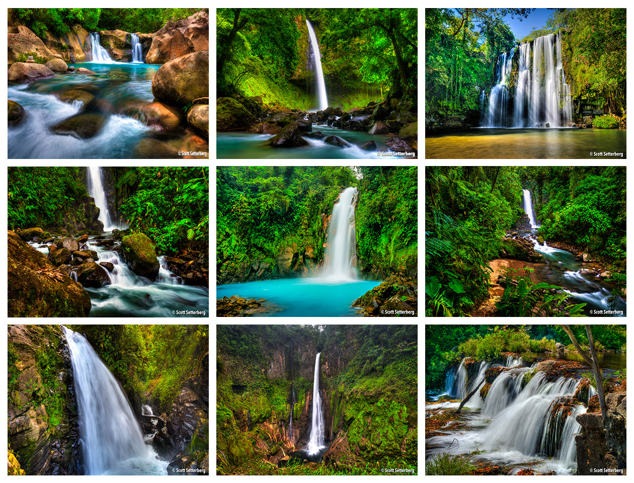 Discover Costa Rica Photo Tour Grid