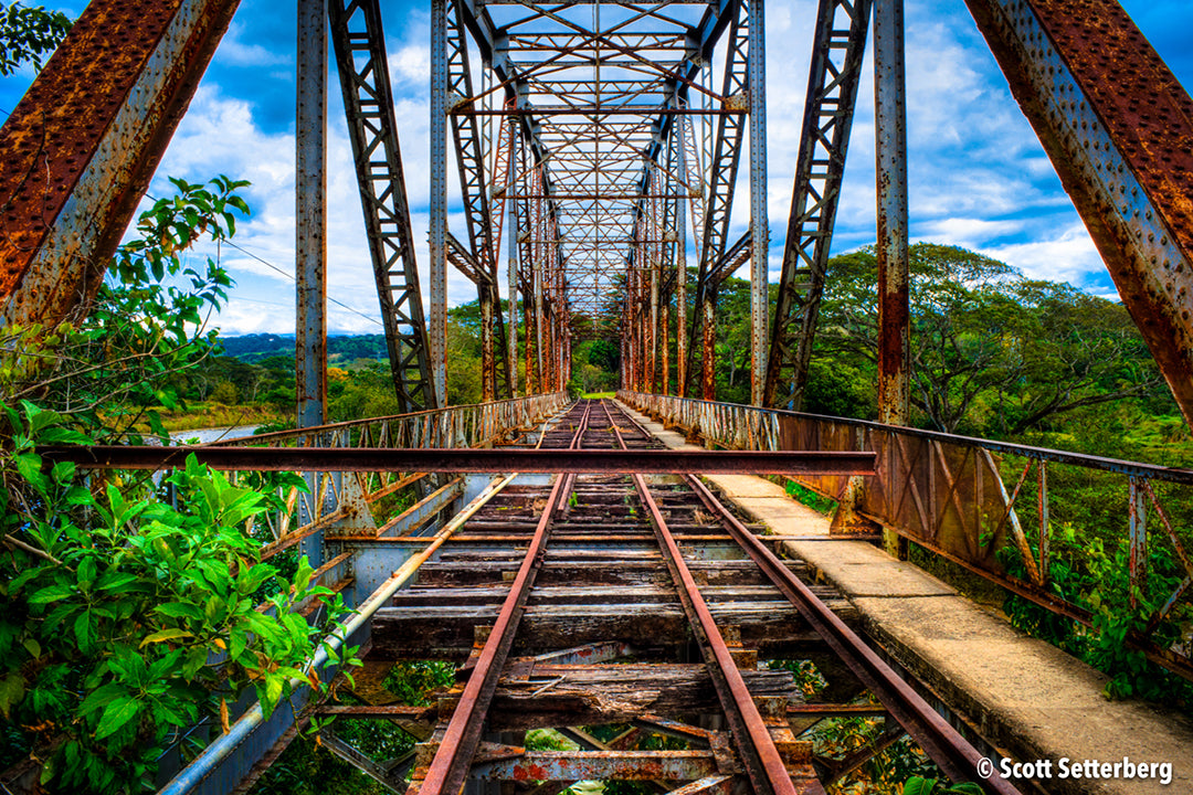 Barranca Train Bridge