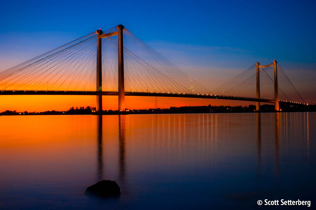 Tri Cities Cable Bridge