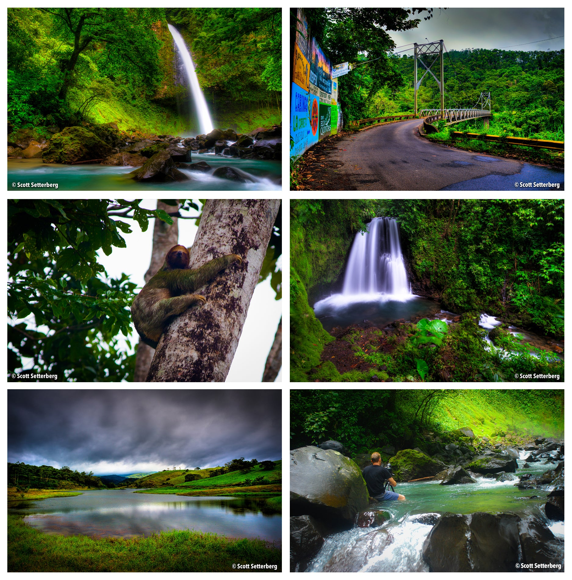La Fortuna Costa Rica Itinerary Grid