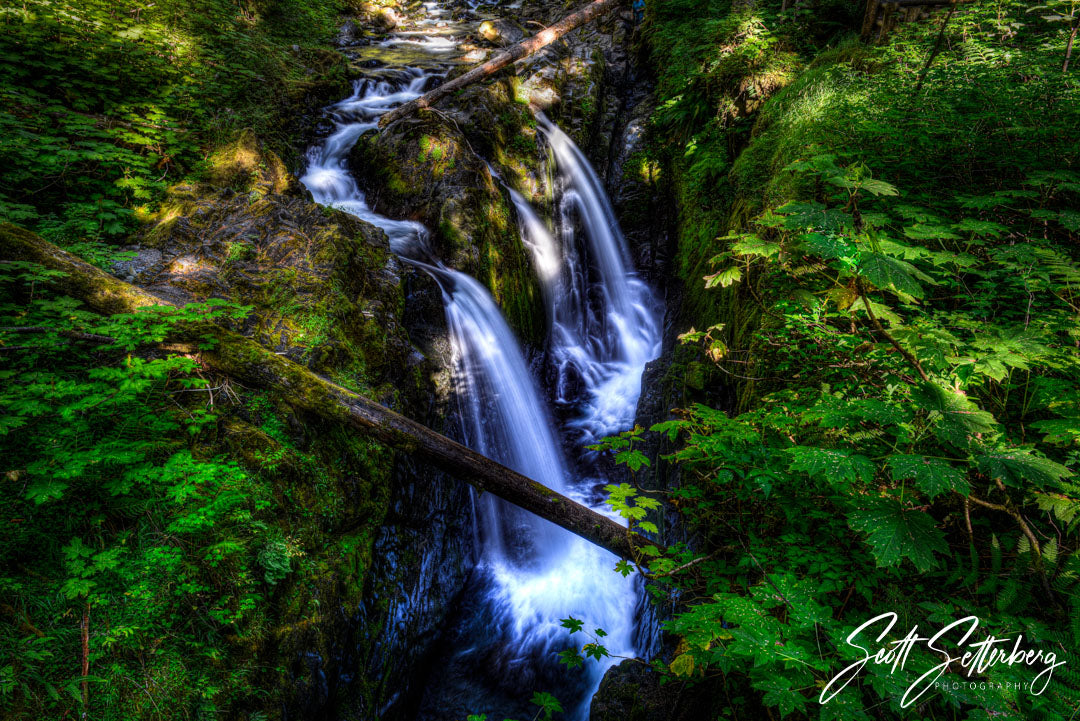 Sol Duc Falls, Olympic National Park, Washington State