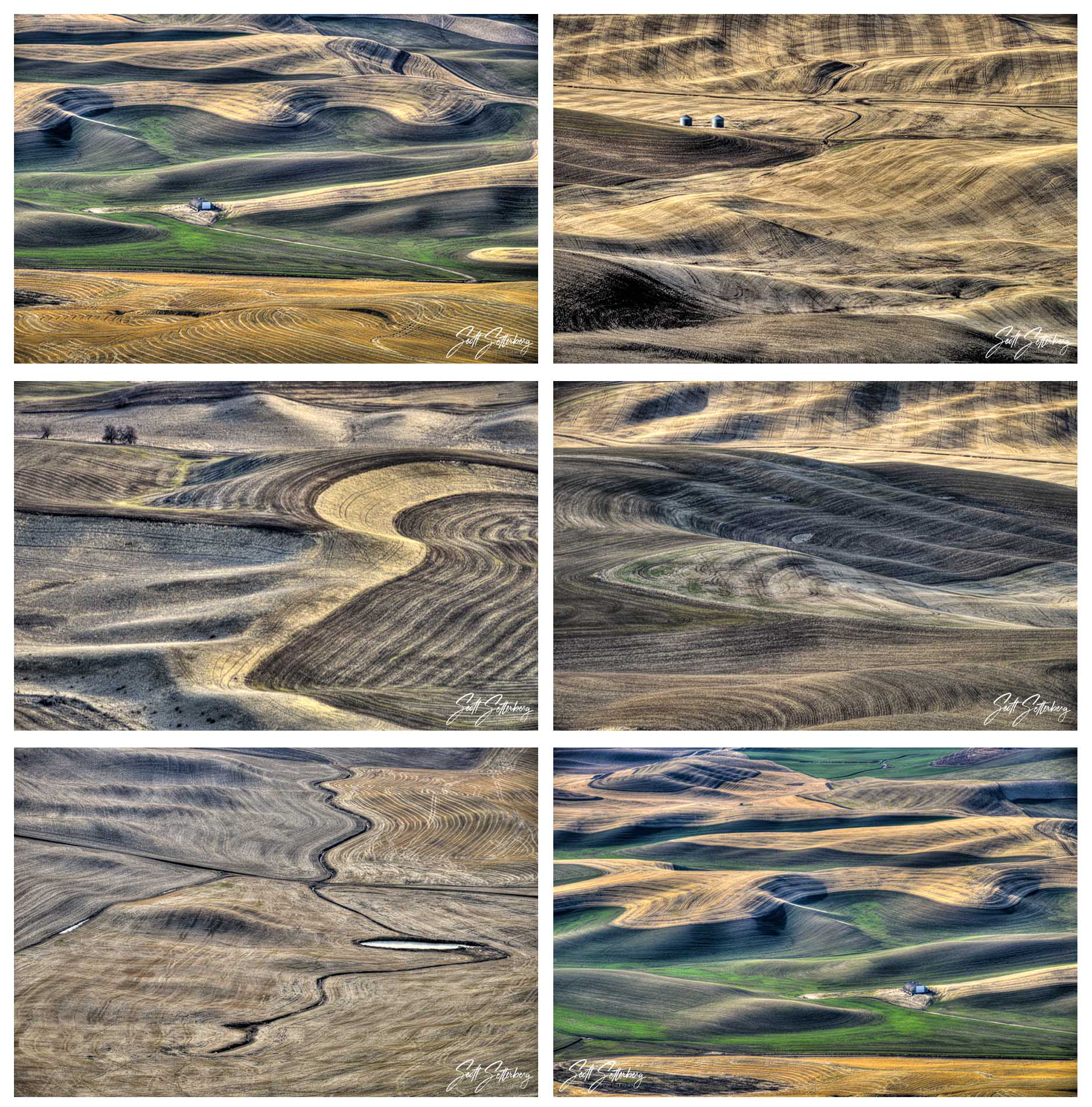 Kiona Vineyards, Palouse Falls, Steptoe Butte, White Bluffs, White River Falls