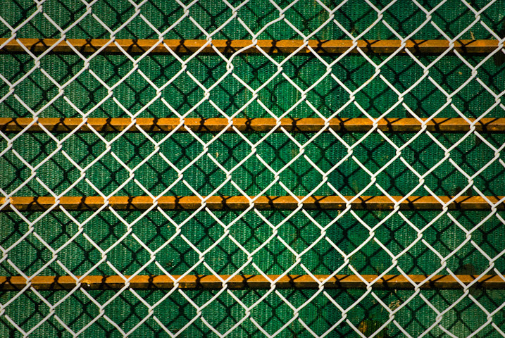 Green Orange Chain Link