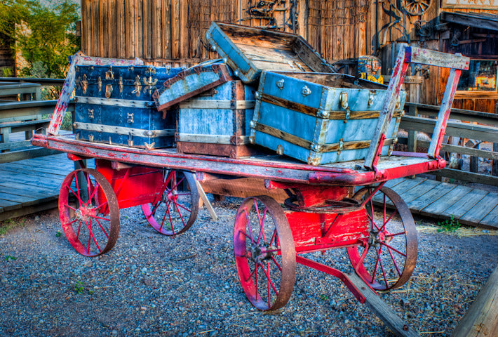 Calico Wagon Trunks