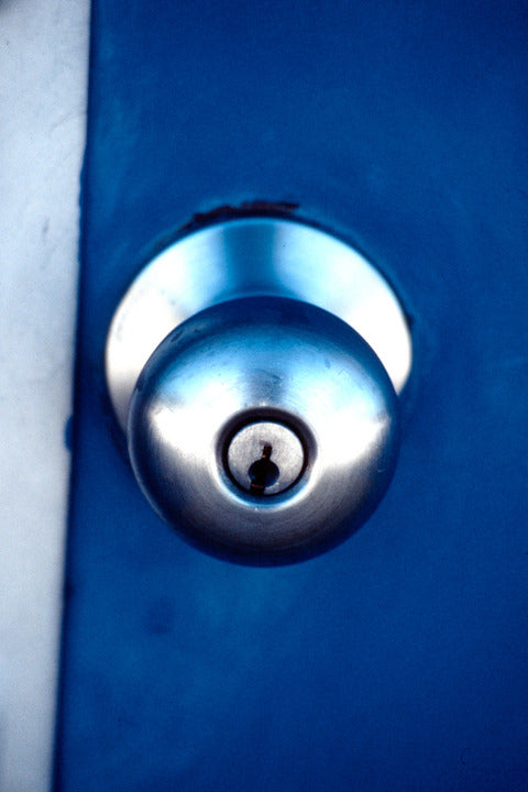 Chrome Doorknob