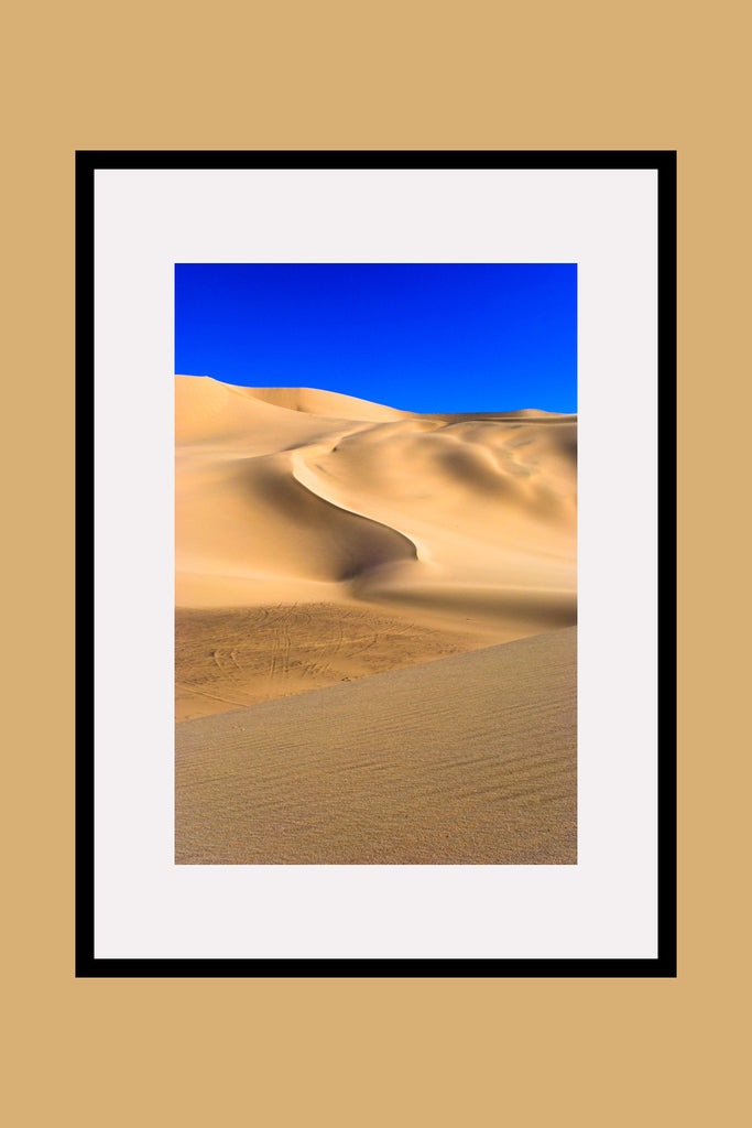 Dumont Dunes California Framed