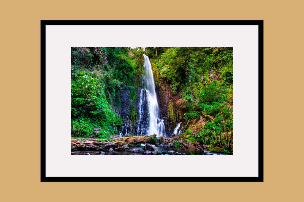 Los Chorros Waterfalls Framed