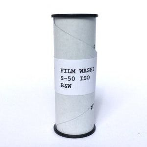 Washi S 50,120, Black and White Film