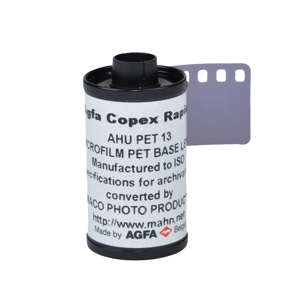 Agfa Copex Rapid 50, 35mm, Black and White Film