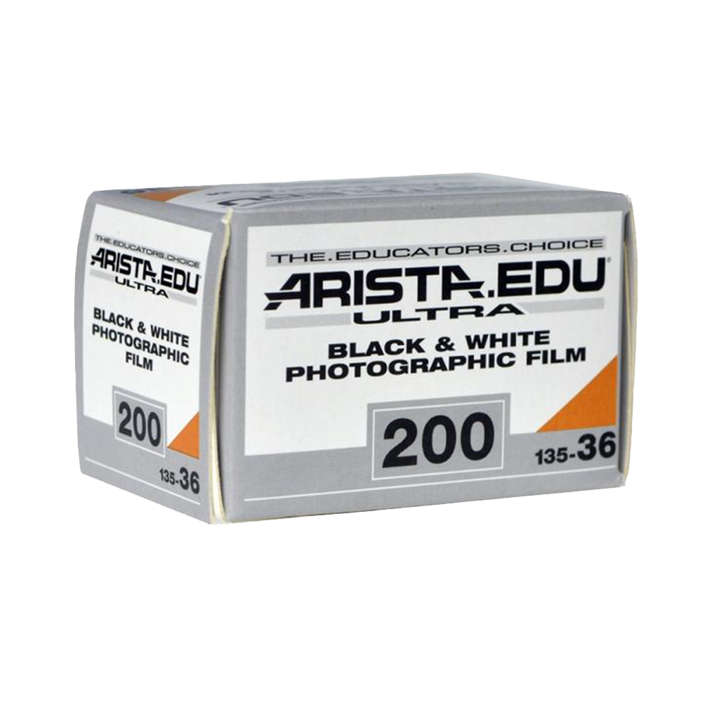 Arista EDU Ultra 200, 35mm, 36 Exp., Black and White Film