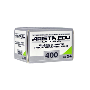 Arista EDU Ultra 400, 35mm, 24 Exp., Black and White Film