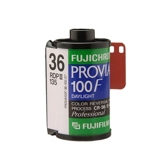 FUJIFILM Fujichrome Provia 100F, 35mm, 36 Exp., Color Film