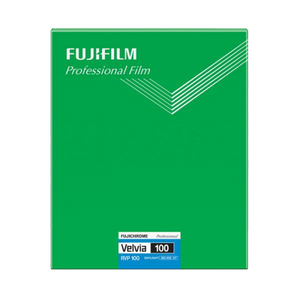 FUJIFILM Fujichrome Velvia 100, 8x10/20 Sheets, Color Film