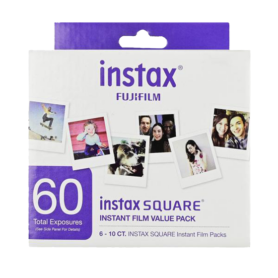 FUJI Instax Square, Color, Value Pack