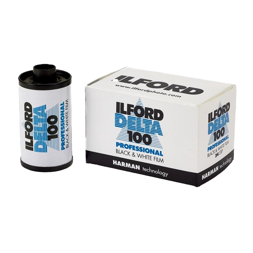 Ilford Delta Pro 100, 35mm, 24 Exp., Black and White Film