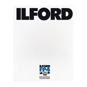 Ilford FP4+, 2.25x3.25, 25 Sheets, Black and White Film