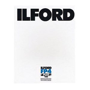 Ilford FP4+, 8x10, 25 Sheets, Black and White Film