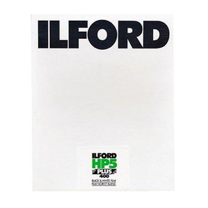 Ilford HP5+, 2.25x3.25/25 Sheets, Black and White Film