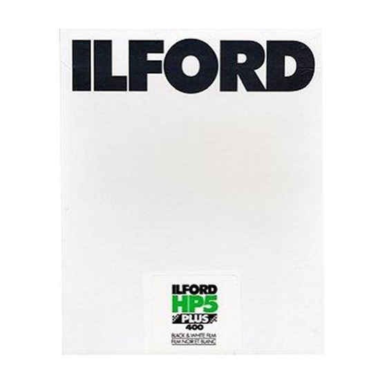 Ilford HP5+, 8x10, 10 Sheets, Black and White Film