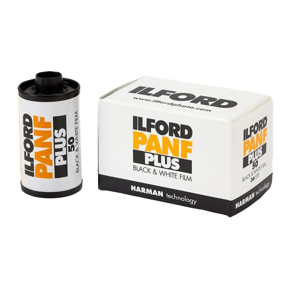 Ilford Pan F+, 35mm, 36 Exp., Black and White Film