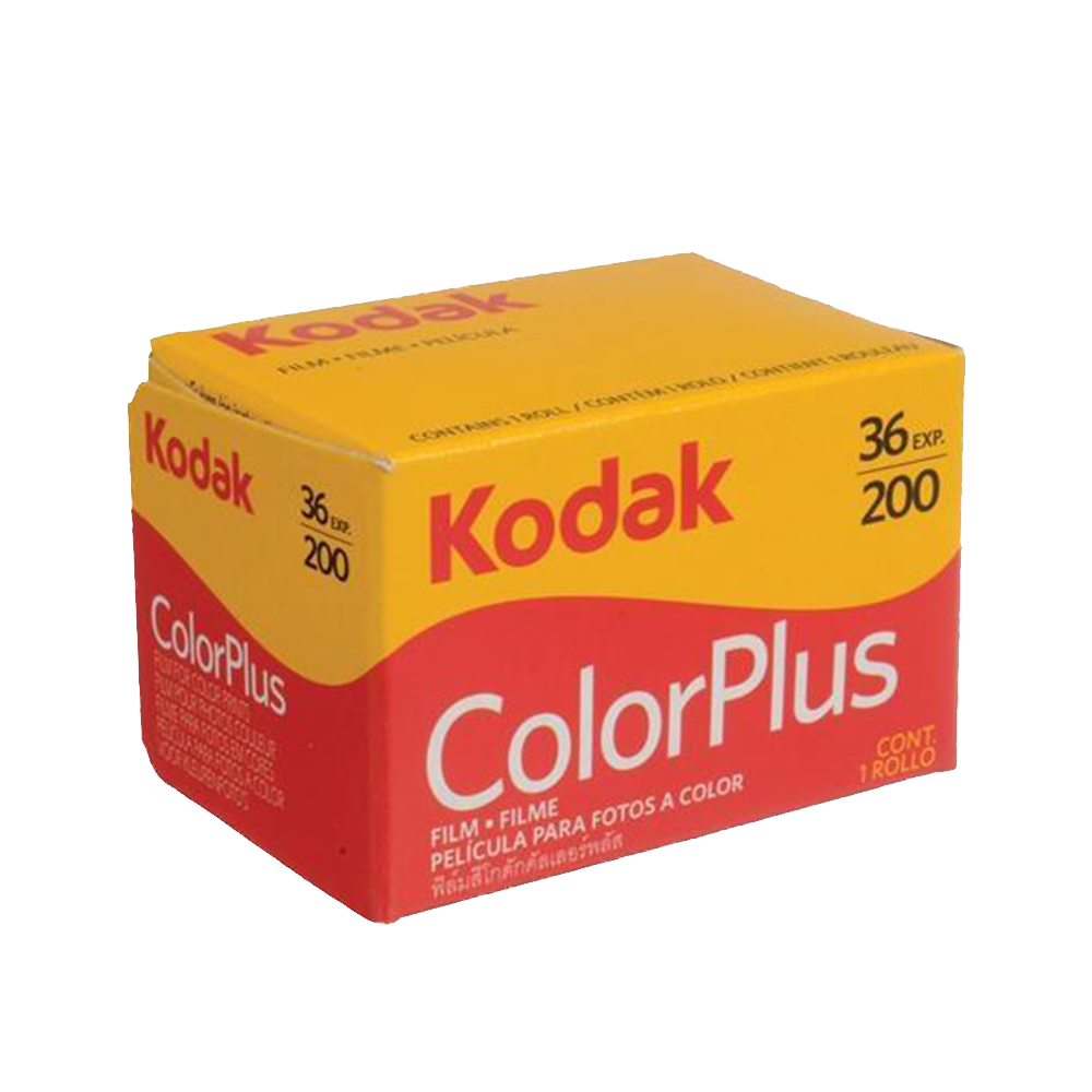 Kodak Color Plus, 200, 35mm, 36 Exp., Color Film