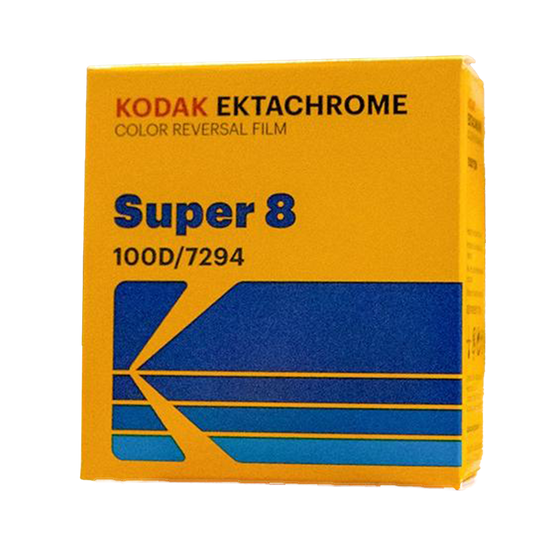 Kodak Ektachrome 100D, Super 8, E6 Film