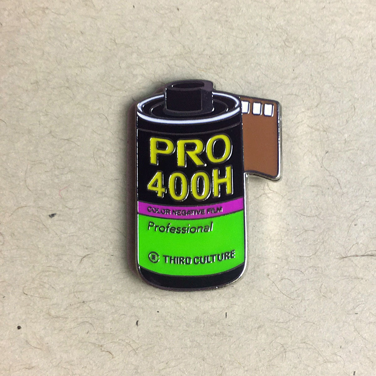 35mm Fuji 400H Lapel Pin