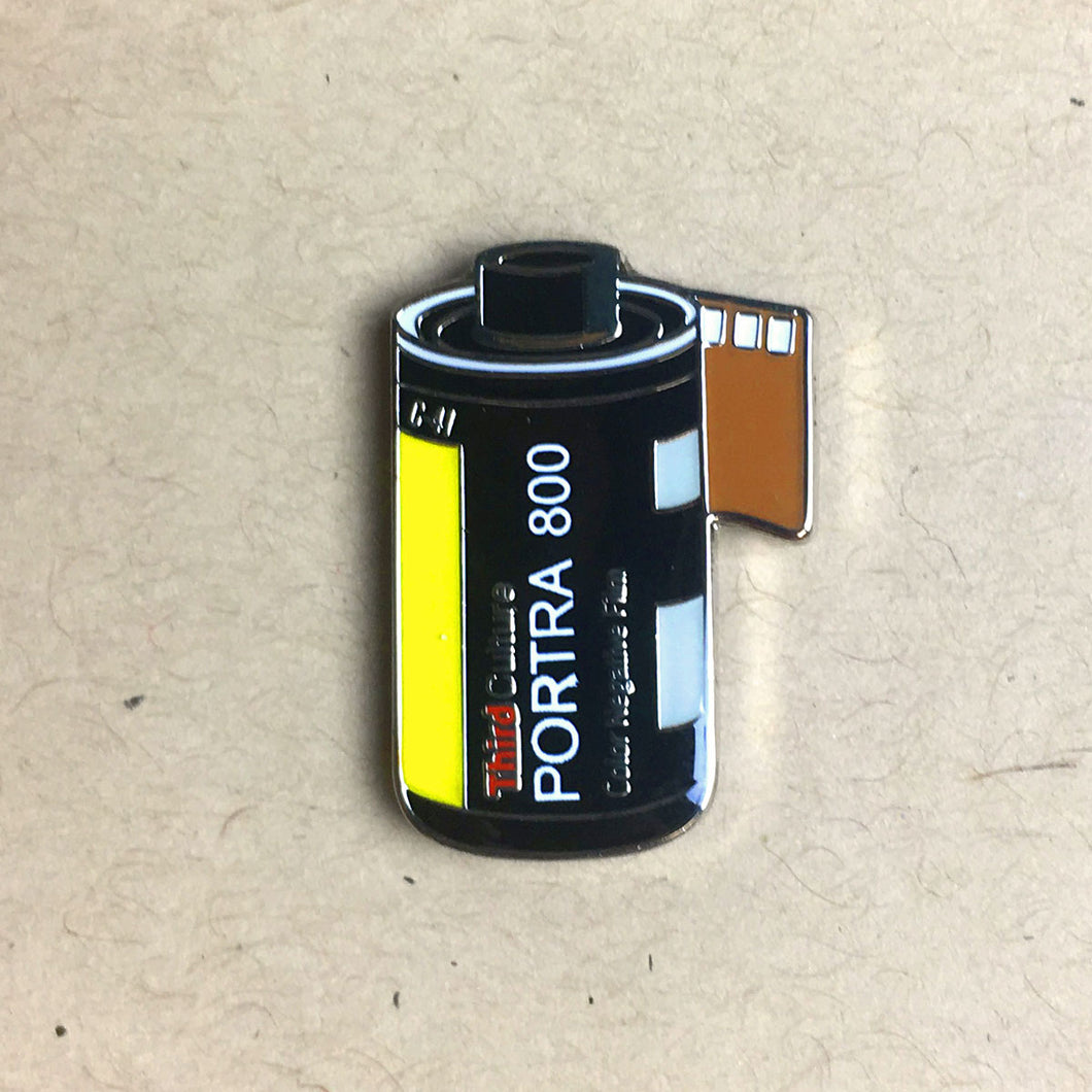 35mm Kodak Portra 800 Lapel Pin